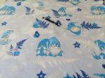 Rénszarvas mintás 100% pamutvászon textília 160 cm széles