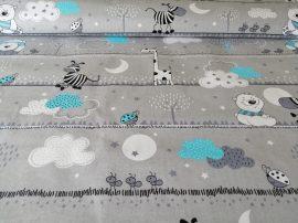 Fiús pamutvászon textília - méteráru 160 cm széles